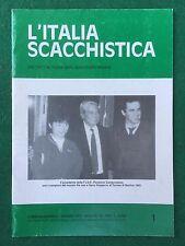 L'ITALIA SCACCHISTICA n.1035 Gennaio 1992 (ITA) Rivista Magazine SCACCHI CHESS