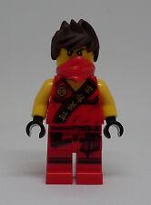 Lego Ninjago Figur - Kai Sleeveless ( rot Ninja Kay ärmellos Ärmel ) Neu