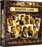 Memory Lane 1950s Songs K-Tel 10 CD 200 Classic Fifties Music Tracks New Sealed