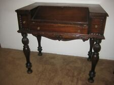Vintage Antique Wood Spinet Secretary Flip Top Writing Table Desk Pick Up Tampa