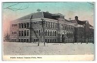 Early 1900s Public School, Cannon Falls, MN Postcard