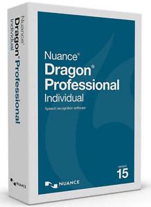 Nuance Dragon Professional Individual 15.6  Lifetime Last Full Version