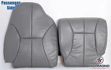 1998-2002 Dodge Ram 3500 SLT -Passenger Side Complete Leather Seat Covers Gray