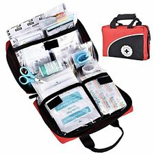 First Aid Kit Medical Supply Kit Survival Gear Bag for Car Home Office 115 Piece