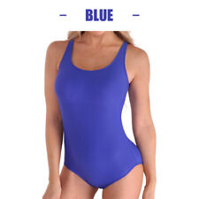 3PCS   Damen Sexy Badeanzug GR L -40  Schwimmanzug Einteilig Beachwear Royalblau