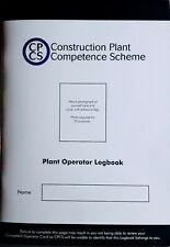 More details for citb/cpcs construction log book competence scheme.excavator/diggers/telehandler.