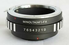 Sony A Minolta AF Lens to Fujifilm X-Pro1 X-E1 Lens Mount Adapter FX Mount MA-FX