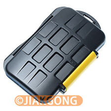 Waterproof Extremely tough Memory Card Case MC-3 for 4CF 4SD 4XD 4MS Pro DUO