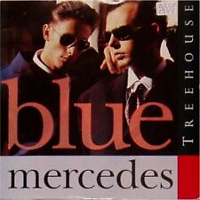 "Blue Mercedes 'Treehouse' Reino Unido Foto Manga 7"" SINGLE"