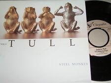 "7"" - Jethro Tull Steel Monkey & Walking Edge - 1987 # 4724"
