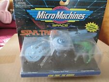 Star Trek Micromachines Space The Movies #6825 Mip Galoob 1994