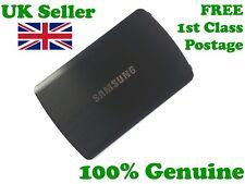 100% Original Samsung S8500 Wave Metall Rückseite Akkudeckel Brushed Alloy schwarz