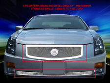 Fedar Wire Mesh Grille Combo Insert For 2003-2007 Cadillac CTS