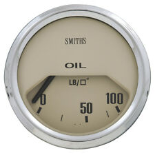 Classic Mini - Oil pressure Gauge - PSI - 52mm - Magnolia • NEW • Moss Europe