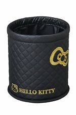 Hello kitty Car Trash Garbage can Box Case Black Cute Japan Anime Kawaii KT491