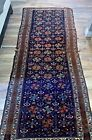 """Estate Found Fine Antique Hand Knotted Wool Tribal  Rug 4' x 9' 7"""""""