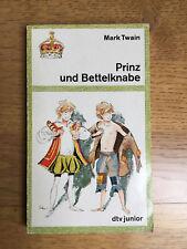 Mark Twain Prinz und Bettelknabe dtv junior