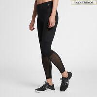 Nike Pro women's Hyper-cool Training Tight Leggings  in Black Sizes S-XL