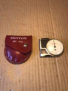 Starrett No.1010 Pocket Gauge