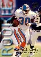 1995 Fleer Ultra #430 Terrell Davis HOF ROOKIE Denver Broncos / Georgia (B)