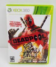 Deadpool (Microsoft Xbox 360, 2013) Complete Dead Pool Marvel Cable