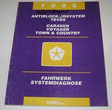 Werkstatthandbuch Chrysler Caravan Voyager Town Country Fahrwerk Stand 1995!