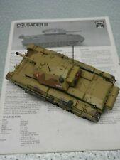 Built 1/35 Crusader III