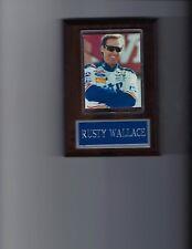RUSTY WALLACE PLAQUE NASCAR AUTO RACING