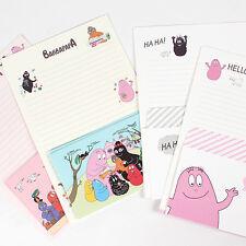 1set BARBARPAPA Cartoon Letter - 4sh Lined writing stationery paper 2sh Envelope