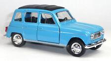 Renault R4 Klassiker Modellauto Spritzguss ca. 12cm blau von WELLY