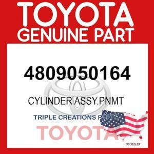 GENUINE OEM LEXUS LS460 CYLINDER PNEUMATIC REAR LH W/SHOCK ABSORBER 48090-50164