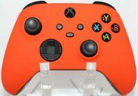 Microsoft Xbox One Series X/S Modded Controller-Soft Touch Orange w/Orange LED