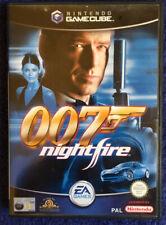 JAMES BOND 007: Nightfire (Nintendo GameCube, 2002) PAL BLACK LABEL COMPLETE