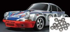 Tamiya Porsche 911 Carrera RSR TT-02 + Kugellager-Set #58571KU