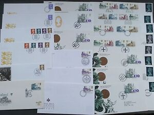 refD9 - HIGH VALUE DEFINITIVE FDCS 1969 - 2003 FDC - Choose from list