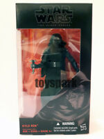 "hasbro star wars Black Series 6"" The Force Awakens KYLO REN action figure"
