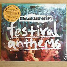3CD NEW - FESTIVAL ANTHEMS - GLOBAL GATHERING - Pop Club Dance House Music 3x CD