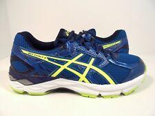 ASICS Men's GEL Exalt 3 Running Shoe Thunder Blue/Safety Yellow/Blue Size 10M