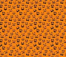 Pumpkin Face Htv Heat Transfer Vinyl Halloween Printed Shirt Craft Sheet 14 X 12