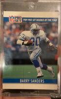 1990 PRO SET BARRY SANDERS RARE DOUBLE FRONT ERROR BOTH SIDE  Mint Card misprint