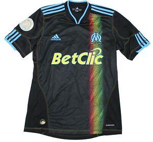 Olympique Marseille Adidas Vintage Mougnin Soccer Football Shirt Jersey Men's S