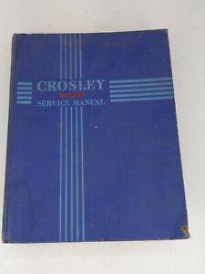 Crosley Radio Service Manual 1943 Sets and Earlier