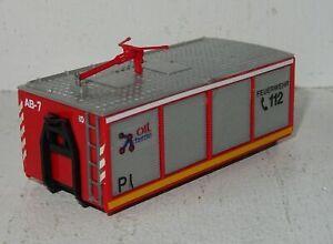 A614 Abrollcontainer Werkfeuerwehr Oil Chemie Eigenbau von Modellbauer 1:87