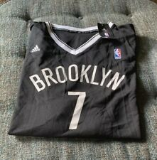 Nwt Adidas Brooklyn Nets Jeremy Lin Jersey Mens Size 2XL XXL Black/White 7 G3