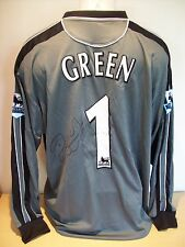 Robert Green Game Worn/Issued Signed Norwich City Keepers Shirt AFTAL/UACC RD