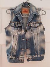 Levi's sans manches veste en jean XS