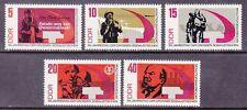 Germany DDR 955-59 MNH 1967 50th Anniversary Russian October Revolution Set
