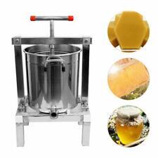 Soil Honey Filter Press Juice Extractor Stainless Steel Beekeeping Tools