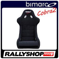 BIMARCO COBRA 2 siège noir baquet en fibre de verre Course Rallye Tuning