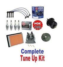 Cap Rotor NGK Wires Spark Plug Filter Kit Honda Civic EG EK CX DX LX 1.6L